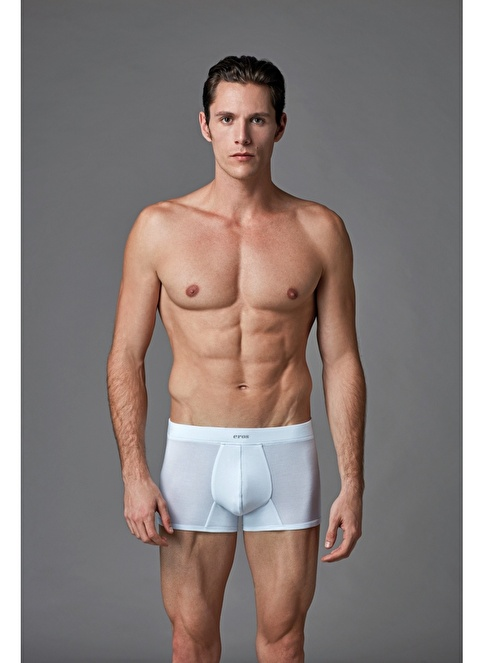 Eros Micro Modal 2'li Boxer Beyaz